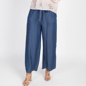 Iris blue cotton lounge pants